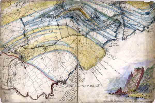 History irish historical geological maps gsi gsni bgs gsi field sheet showing the stradbally area of co waterford 6 inch sheet no gumiabroncs Gallery